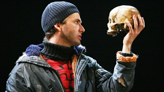 David Tennant as Hamlet (Rex Features)