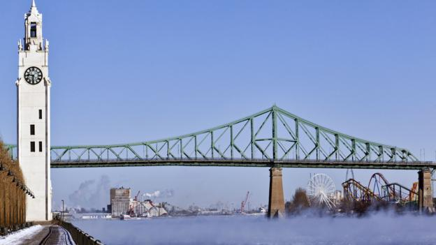 Montreal and the St Lawrence River (Credit: Doug McKinlay/Getty)