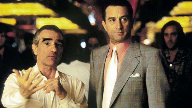 Martin Scorsese and Robert De Niro on the set of Casino (AF archive/Alamy)