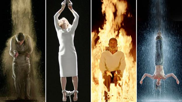 At the mercy of the elements (Bill Viola)