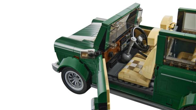 Lego Mini Cooper (Credit: Lego Group)