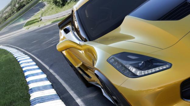 BBC - Autos - Chevrolet crowns a new Corvette king