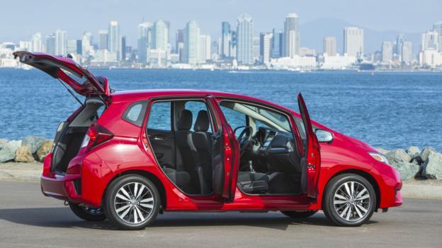 2015 Honda Fit (Credit: American Honda)