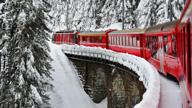 Ride the Rhaetian Railway (Credit: Harold Cunningham/Getty)