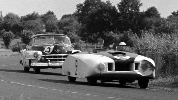 Briggs Cunningham's 'Le Monstre' (Credit: Klemantaski Collection/Hulton Archive/Getty)