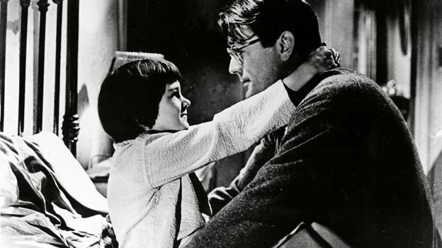 A still from To Kill a Mockingbird