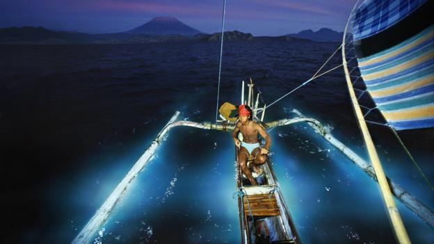Sailing through stars (Credit: Per-Andre Hoffmann/Getty)