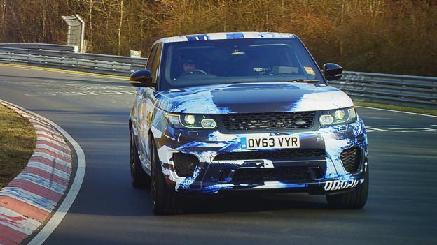 Range Rover Sport SVR Prototype (Credit: Jaguar Land Rover)