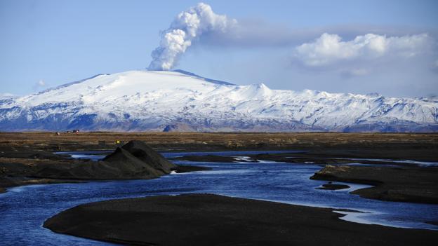 Icelandic eruption (Credit: Emmanuel Dunand/AFP/Getty)