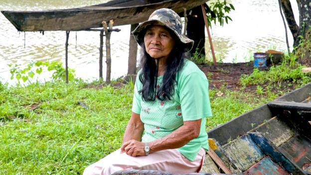 A Mamirauá local (Credit: Dan Harris)