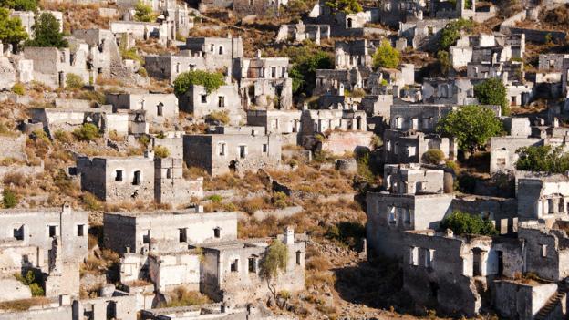 The ruins of Kayakoy (Credit: Paul Biris/Getty)