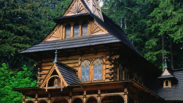 Jaszczurowka Chapel (Credit: Krzysztof Dydynski/Getty)