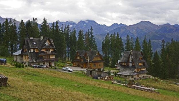 Alpine architecture, Zakopane style (Credit: Chlaus Lotscher/Getty)