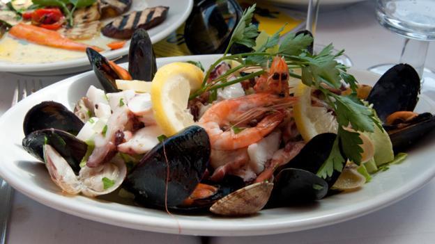 Fresh seafood, Ischia (Credit: Amanda Ruggeri)