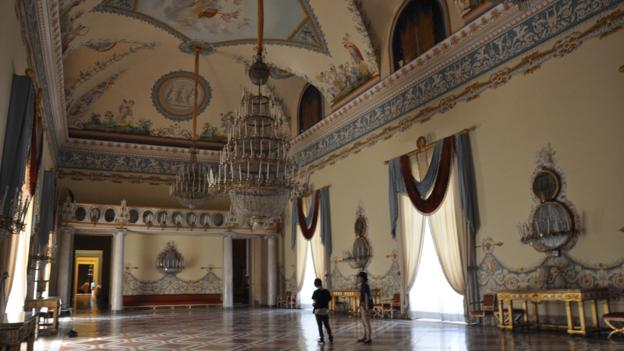 Capodimonte art museum, Naples (Credit: Amanda Ruggeri)