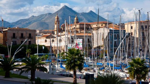 Palermo Harbour, Sicily (Credit: Amanda Ruggeri)