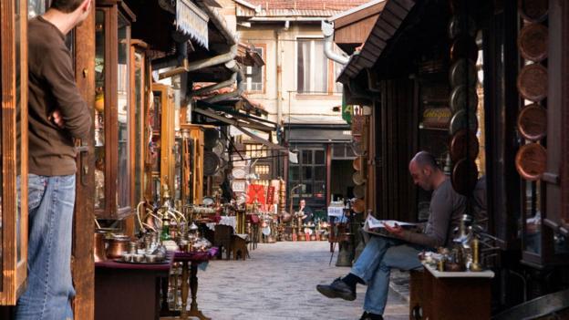 Sarajevo's Turkish quarter (Credit: Patrick Horton/LPI/Getty)