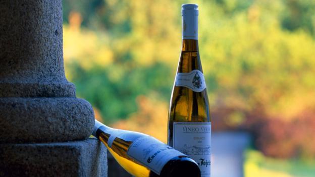 Bottles of vinho verde (Credit: Ian Aitken/Getty)
