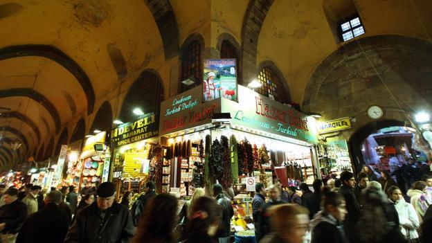 Spice Market (Credit: Mustafa Ozer/AFP/Getty)