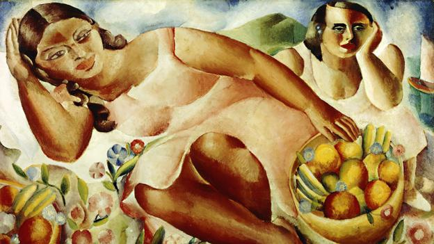 Emiliano de Cavalcanti's Women with Fruits