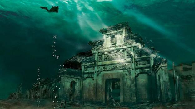 Atlantis of the East (Credit: Chinese National Geography)