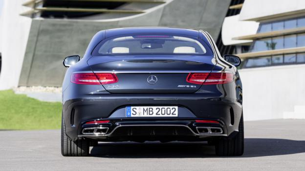 2015 Mercedes-Benz S65 AMG Coupe (Credit: Daimler)