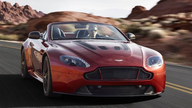 Aston Martin V12 Vantage S Roadster (Credit: Aston Martin)