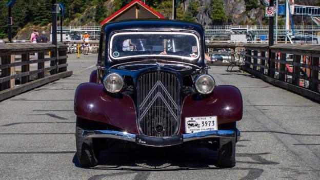 Citroën Traction Avant (Credit: Brendan McAleer)