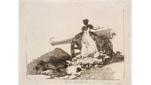 (Goya: Plate 7/The Folio Society)