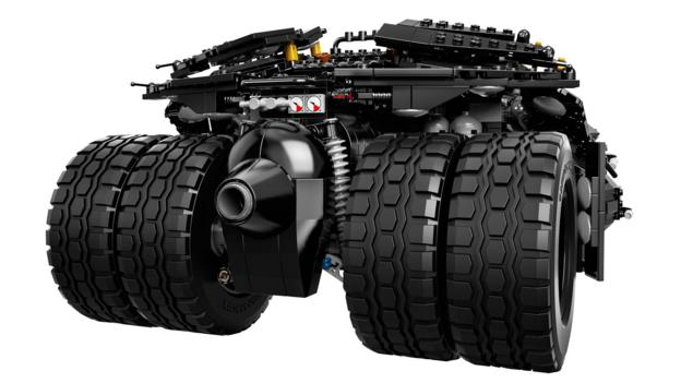 Batman's Tumbler, by Lego (Credit: Lego Group)