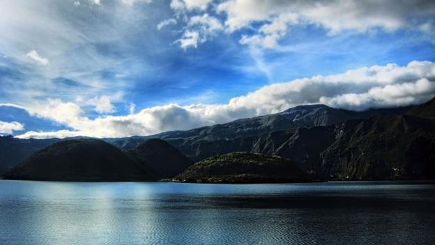Cuicocha Lake in the Cordillera Occidental range (Credit: Shahriar Erfanian/Getty)