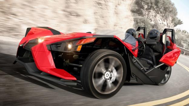 bbc autos meet the polaris slingshot the sports car that isn t. Black Bedroom Furniture Sets. Home Design Ideas