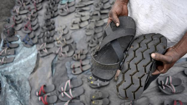 Bbc Autos Around The World Discarded Tyres Tread Again