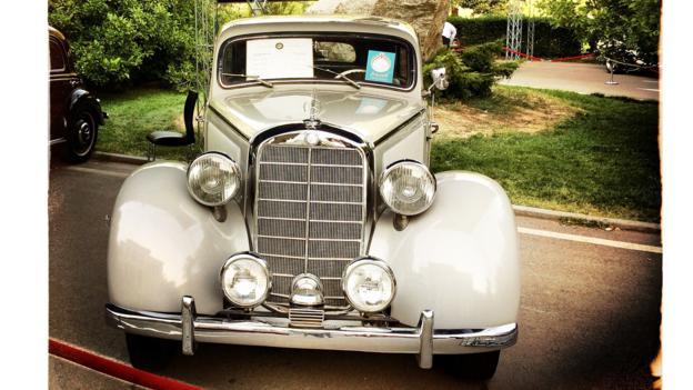 1939 Mercedes-Benz 230 saloon (Credit: Behrouz Mehri/AFP/Getty)