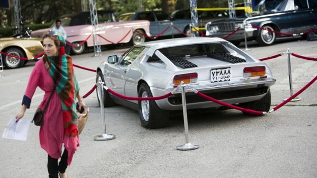 Circa-1973 Maserati Merak (Credit: Behrouz Mehri/AFP/Getty)