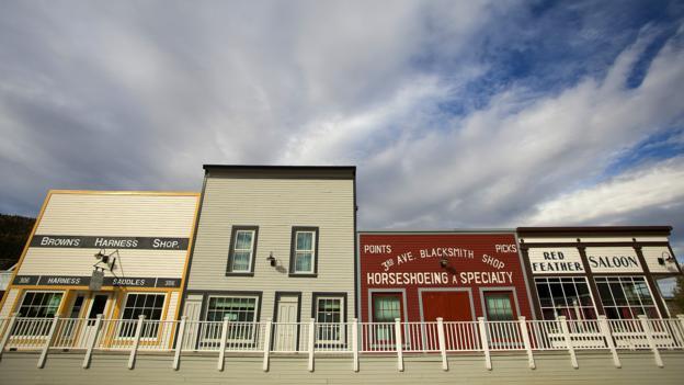 Dawson City street (Credit: Paul Zizka/Getty)
