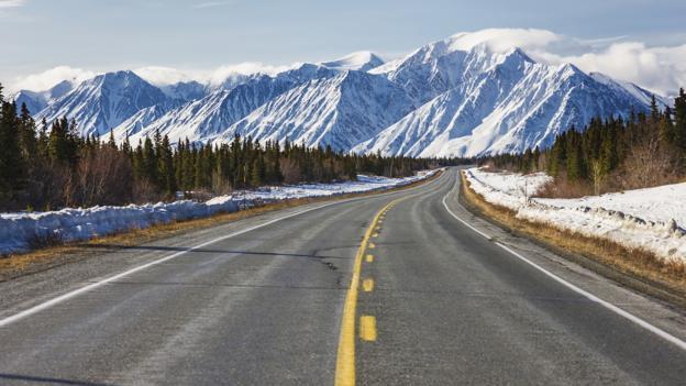 Yukon's Alaska Highway (Credit: Kevin Smith/Design Pics/Getty)