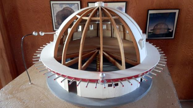 A model of the Integratron (Credit: Ashley Winchester)