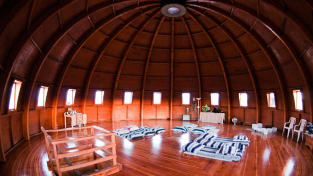 The interior of the Integratron (Credit: Carl Rice)