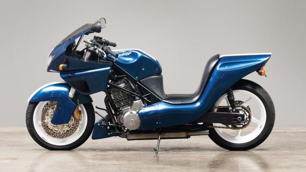 2002 AAR Alligator Motorcycle (Credit: Courtesy RM Auctions)