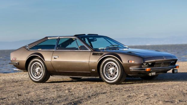 1972 Lamborghini Jarama 400GT (Credit: Courtesy Gooding & Company)