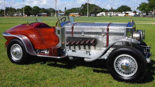 1928 Rolls-Royce Thunderbolt Aero custom boattail (Credit: Courtesy Russo and Steele)