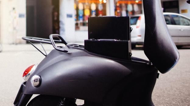 Unu electric scooter (Credit: Unu GmbH)