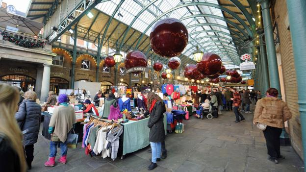 Shopping in Covent Garden (Credit: Stuart C Wilson/Getty)
