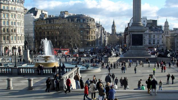 Trafalgar Square (Credit: Amanda Ruggeri)