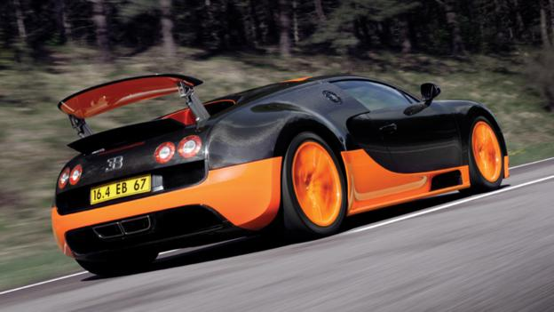 Into the slipstream (Credit: Bugatti)