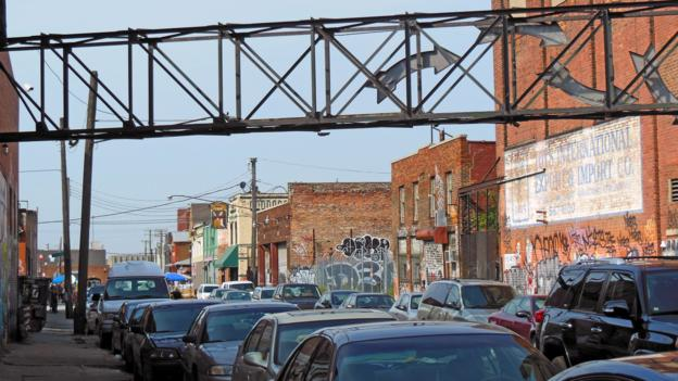 Yesterday's bricks, today's urban art (Credit: Joe Baur)