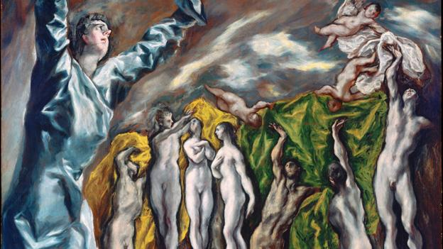 The Vision of St. John by El Greco (Metropolitan Museum of Art, New York)