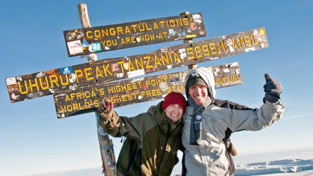 Mt Kilimanjaro's summit