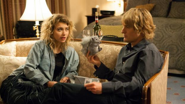 Imogen Poots and Owen Wilson in She's Funny That Way (Peter Bogdanovich)